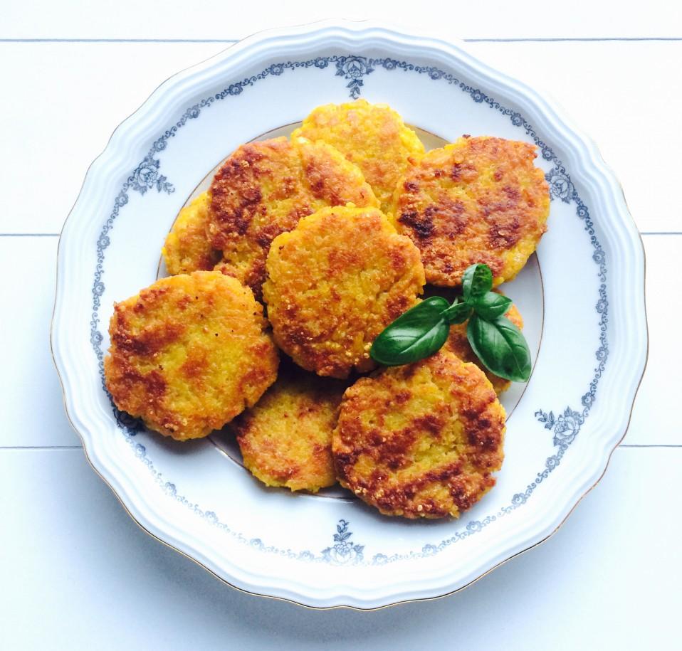 koekjes van overgebleven risotto