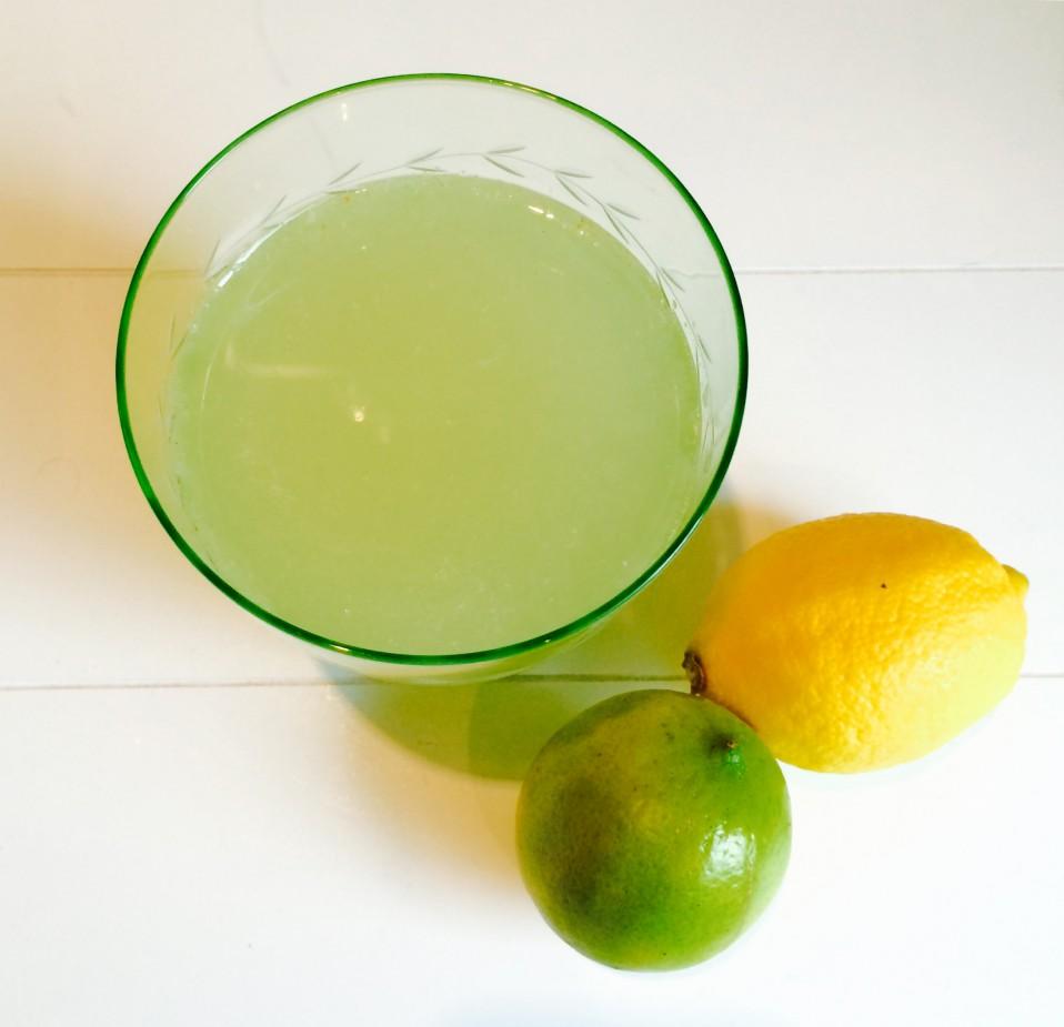 recept voor ginger-ale met limoen