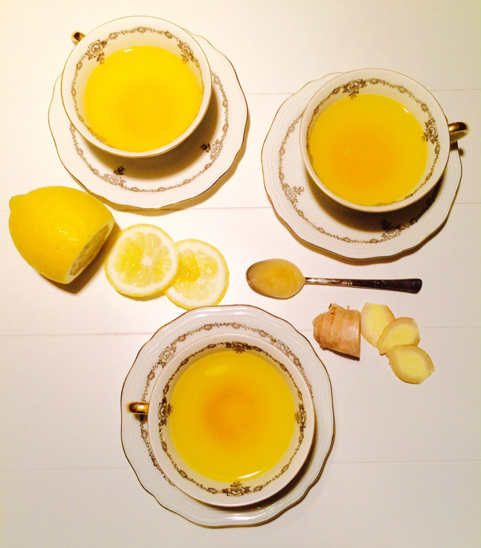 detox ochtenddrankje van citroen, gember en kurkuma