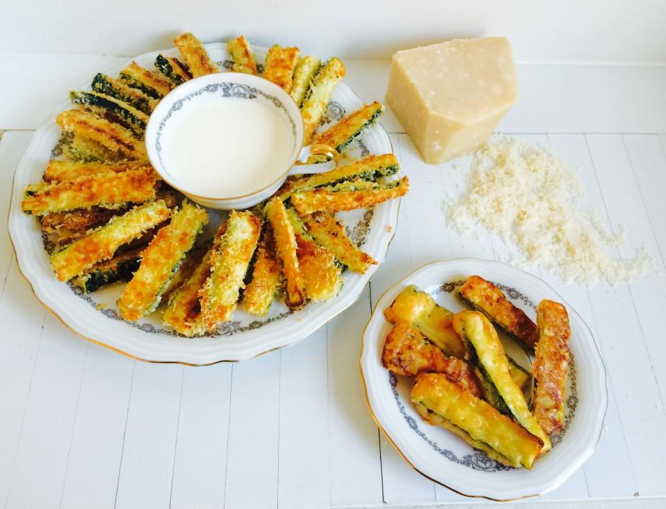 paleo of niet: lekkere courgettefriet