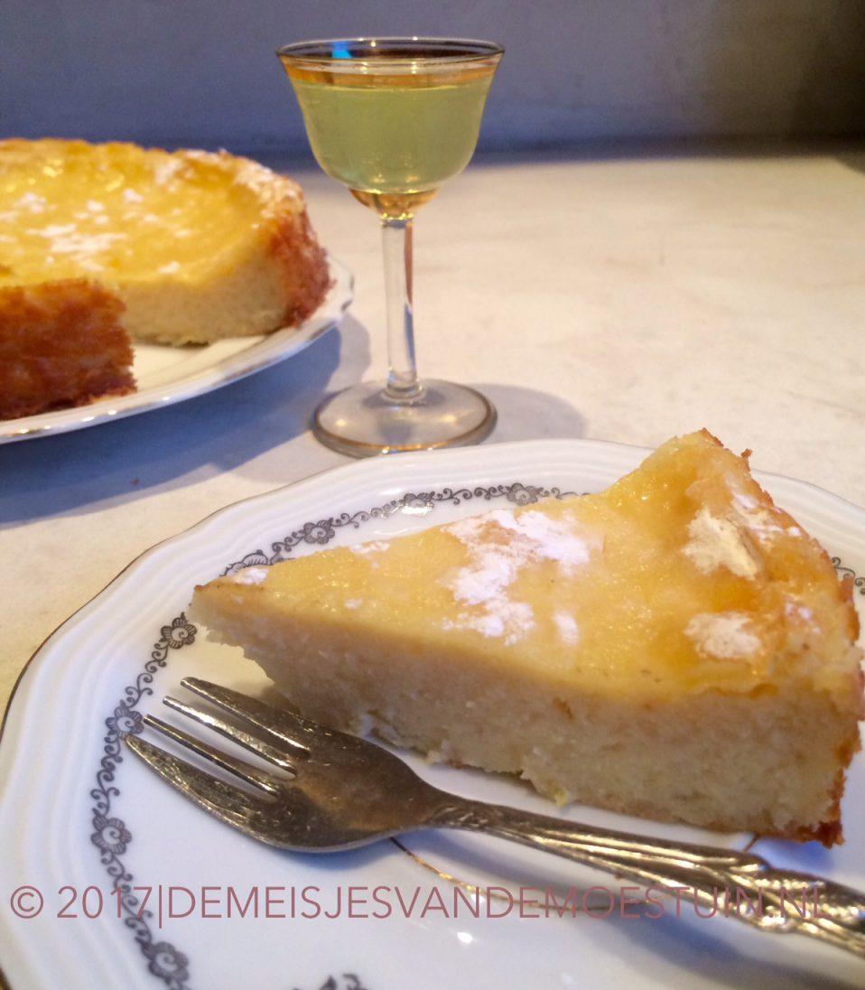 Ricotta taart met limoncello