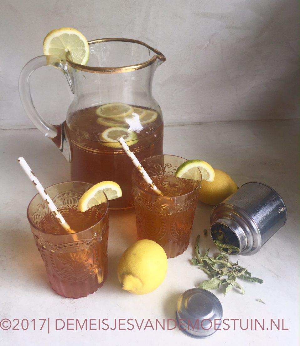 ice tea van citroenverbena