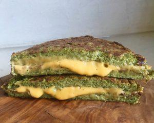 tosti van broccoli met kaas