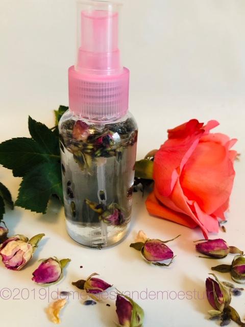 natuurlijke roomspray